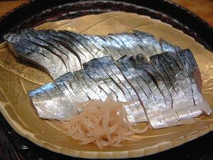 しめ鯖 鯖の生鮨