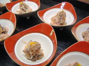 椎茸の米麹漬け