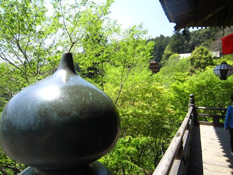 長谷寺本堂の如意宝珠
