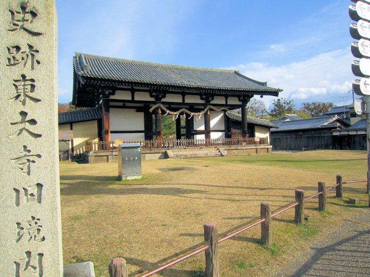 東大寺転害門