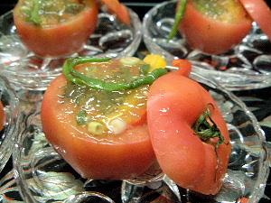 トマト釜のゼリー寄せ