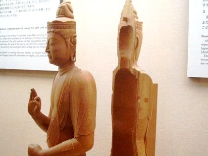 仏像修理模型