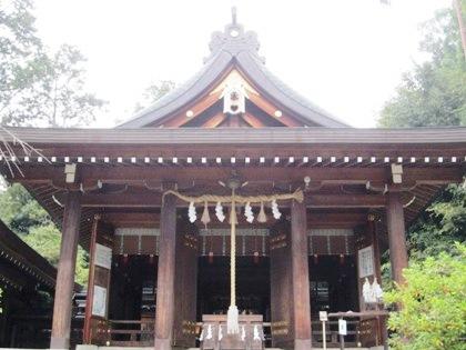 飛鳥坐神社拝殿