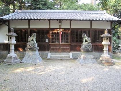 若桜神社拝殿