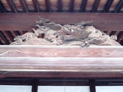 豊浦寺跡の蟇股