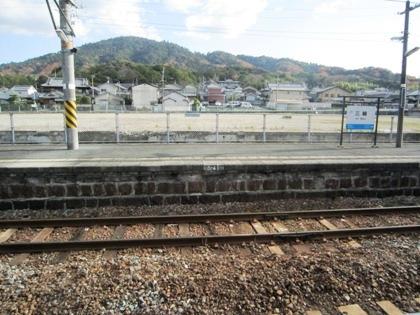 JR三輪駅から望む三輪山