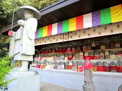 安倍文殊院の弘法大師像