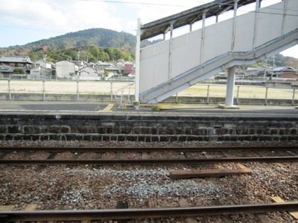 JR三輪駅から見る三輪山