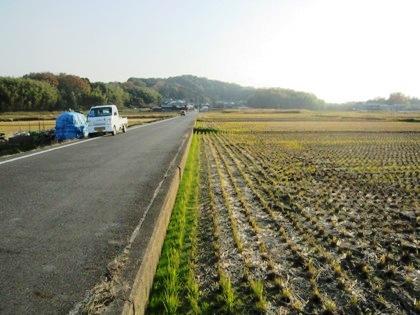 香具山への道