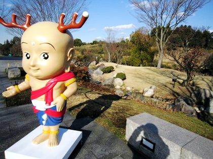 奈良県立万葉文化館のせんとくん