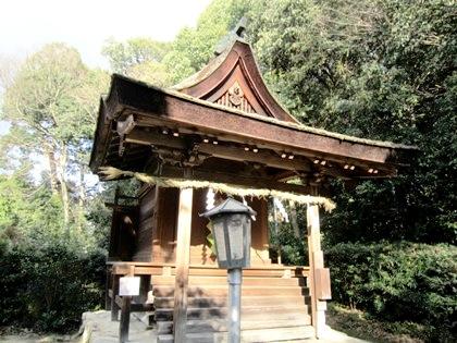 大和神社の祖霊社