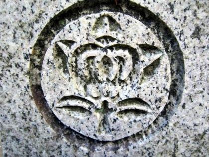 大和神社の橘紋