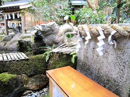 墨坂神社の御神水