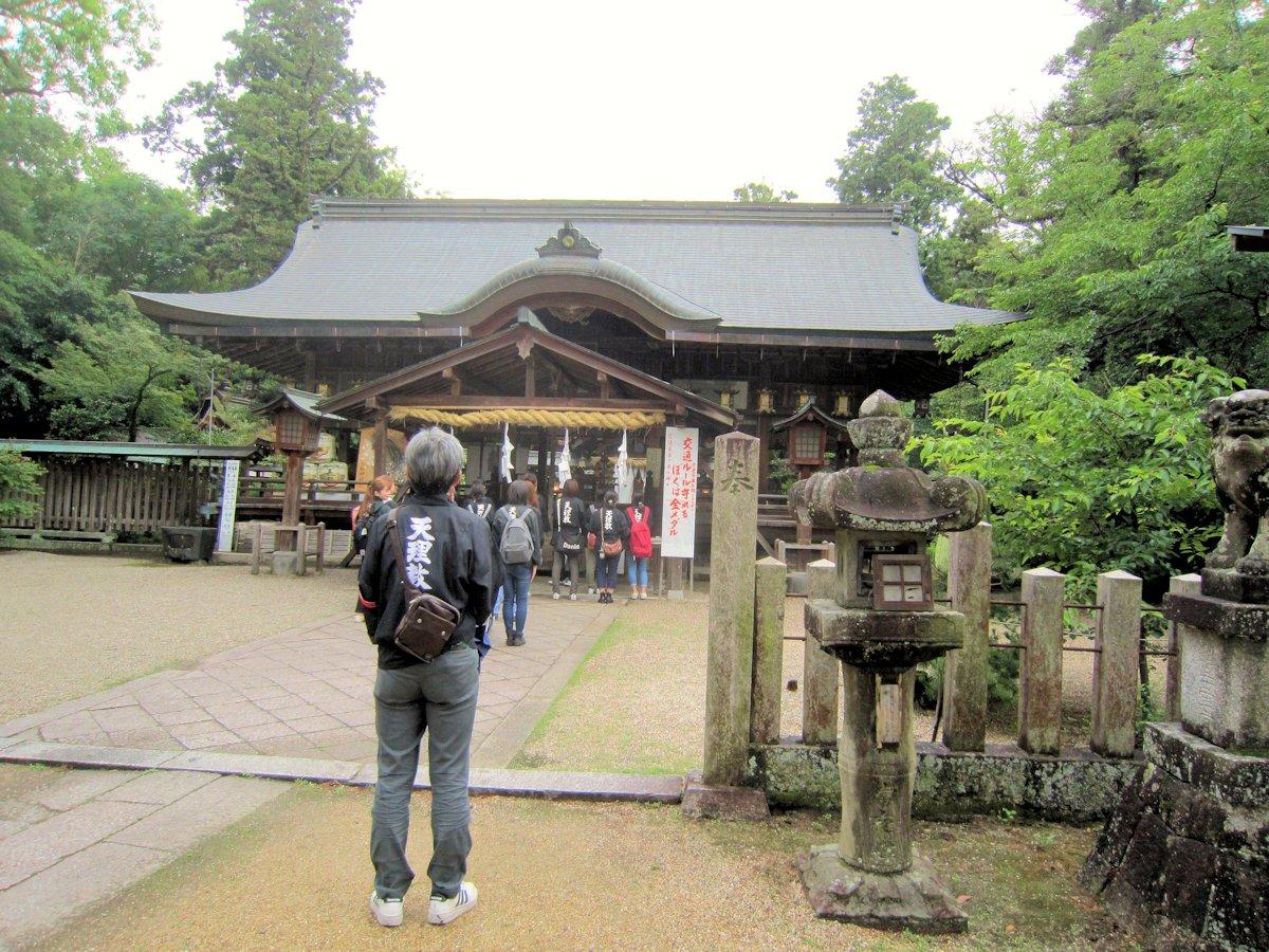 大和神社と天理教信者