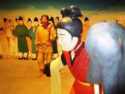 万葉文化館の一般展示室