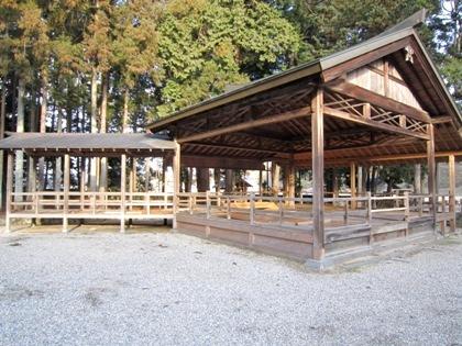阿紀神社の能舞台