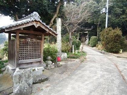桜井市高田の八坂神社