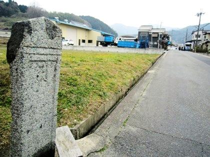 多武峯街道の町石
