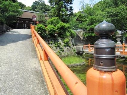 長弓寺の橋