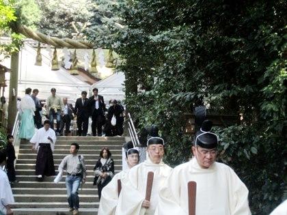 狭井神社の鎮花祭