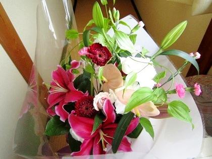 両親贈呈花束