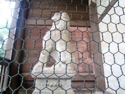 東大寺南大門の石獅子像
