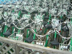 明日香村のレンタサイクル