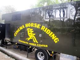 Cinema Horse Riding