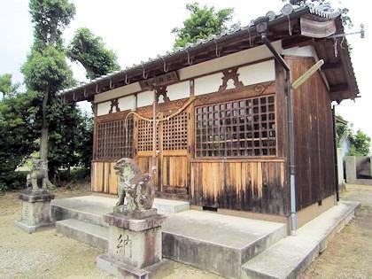 脇田神社拝殿