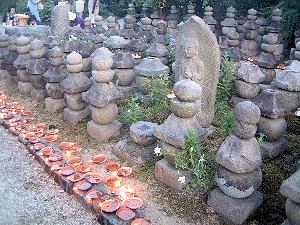 元興寺の地蔵会万燈供養
