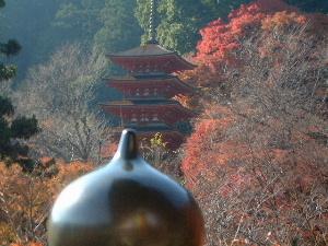 長谷寺の擬宝珠