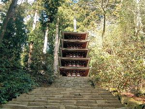 室生寺五重塔