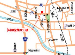大正楼周辺地図