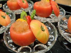 夏野菜のゼリー酢