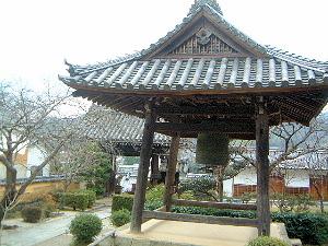 橘寺の鐘楼