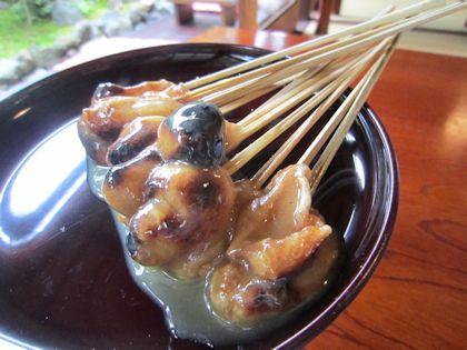 今宮神社名物のあぶり餅