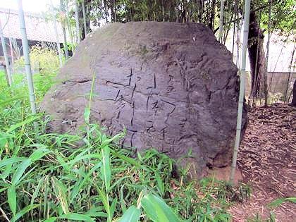 柿本神社の万葉歌碑