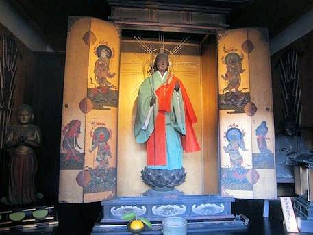 伝香寺の地蔵菩薩立像