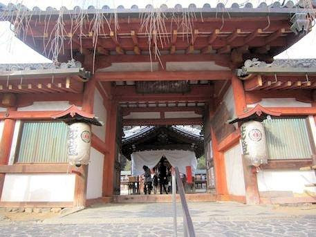 氷室神社の四脚門
