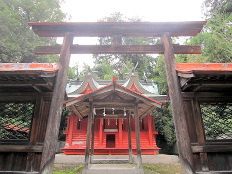 村屋神社本殿