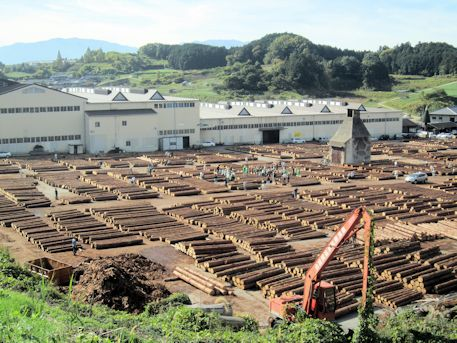奈良県銘木協同組合の木材振興特別市