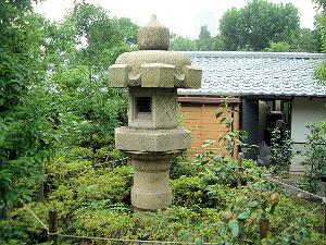 檜町公園の石灯籠