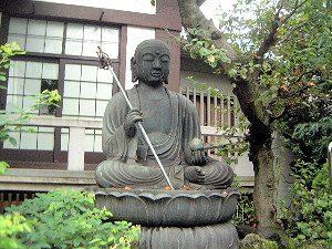 浄土寺の銅造地蔵菩薩坐像