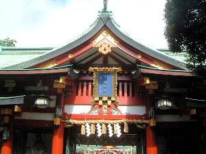 山王日枝神社の神門