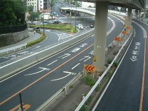 赤坂見附跡の歩道橋