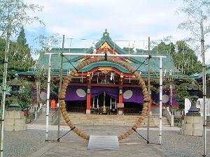 山王日枝神社の茅の輪