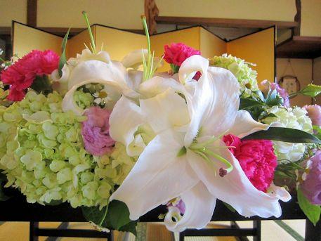 高砂装花の百合