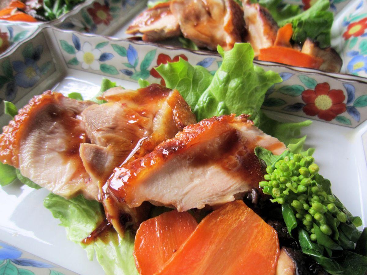 大和肉鶏の照焼き