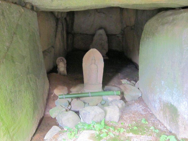 閼伽井古墳の井戸