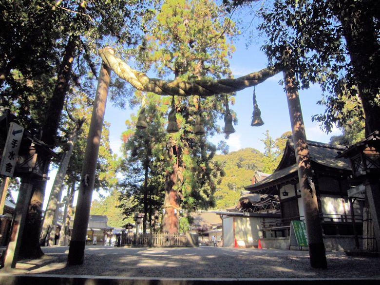 大神神社の注連縄